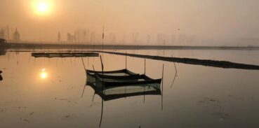 固城湖大闸蟹较早的捕捞时间