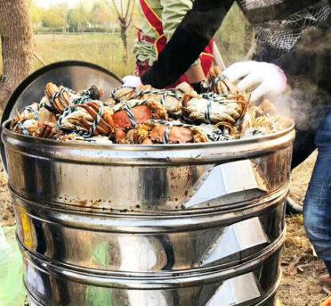 清蒸大闸蟹怎么做不腥?水煮大闸蟹窍门