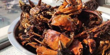 椒盐大闸蟹的做法